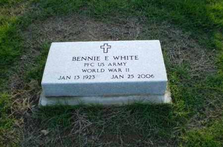 WHITE (VETERAN WWII), BENNIE E - Clay County, Arkansas | BENNIE E WHITE (VETERAN WWII) - Arkansas Gravestone Photos