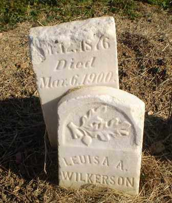 WILKERSON, LEUISA A - Clay County, Arkansas | LEUISA A WILKERSON - Arkansas Gravestone Photos