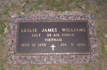 WILLIAMS  (VETERAN VIET), LESLIE JAMES - Clay County, Arkansas | LESLIE JAMES WILLIAMS  (VETERAN VIET) - Arkansas Gravestone Photos