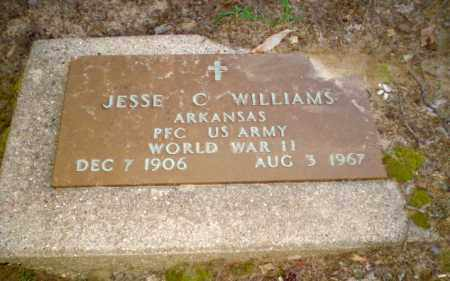 WILLIAMS  (VETERAN WWII), JESSE C - Clay County, Arkansas | JESSE C WILLIAMS  (VETERAN WWII) - Arkansas Gravestone Photos