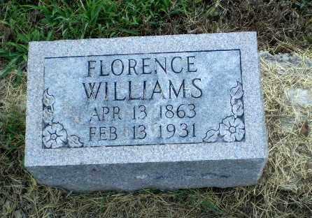 WILLIAMS, FLORENCE - Clay County, Arkansas | FLORENCE WILLIAMS - Arkansas Gravestone Photos