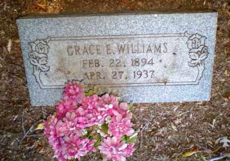 WILLIAMS, GRACE E - Clay County, Arkansas | GRACE E WILLIAMS - Arkansas Gravestone Photos
