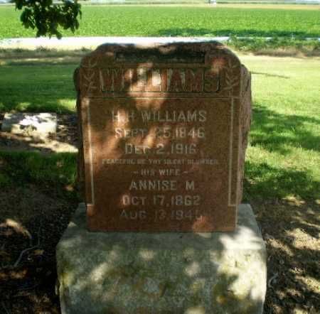 WILLIAMS, H.H. - Clay County, Arkansas | H.H. WILLIAMS - Arkansas Gravestone Photos
