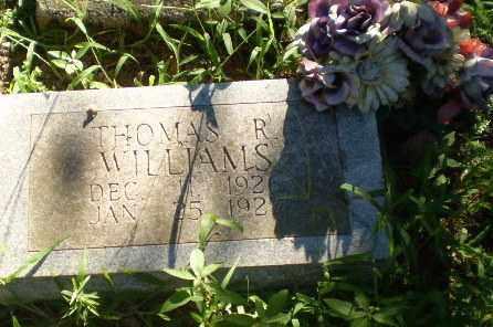 WILLIAMS, THOMAS R - Clay County, Arkansas   THOMAS R WILLIAMS - Arkansas Gravestone Photos