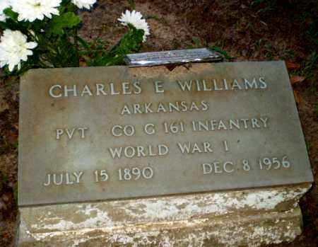 WILLIAMS (VETERAN WWI), CHARLES E - Clay County, Arkansas | CHARLES E WILLIAMS (VETERAN WWI) - Arkansas Gravestone Photos