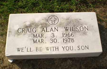 WILSON, CRAIG ALAN - Clay County, Arkansas | CRAIG ALAN WILSON - Arkansas Gravestone Photos