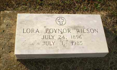 POYNOR WILSON, LORA - Clay County, Arkansas | LORA POYNOR WILSON - Arkansas Gravestone Photos