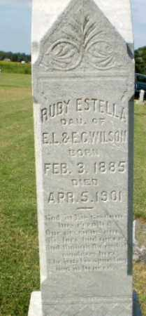 WILSON, RUBY ESTELLA - Clay County, Arkansas | RUBY ESTELLA WILSON - Arkansas Gravestone Photos