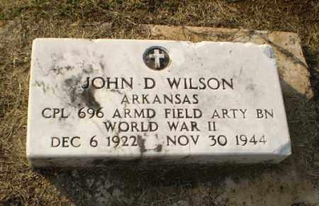 WILSON (VETERAN WWII KIA), JOHN DIGGS - Clay County, Arkansas | JOHN DIGGS WILSON (VETERAN WWII KIA) - Arkansas Gravestone Photos