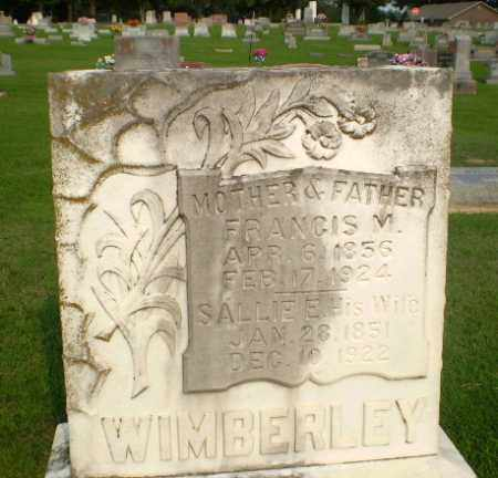 WIMBERLEY, FRANCIS M - Clay County, Arkansas | FRANCIS M WIMBERLEY - Arkansas Gravestone Photos
