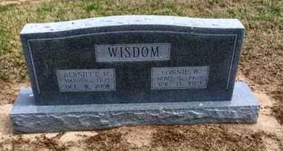 WISDOM, FONNIE R - Clay County, Arkansas | FONNIE R WISDOM - Arkansas Gravestone Photos