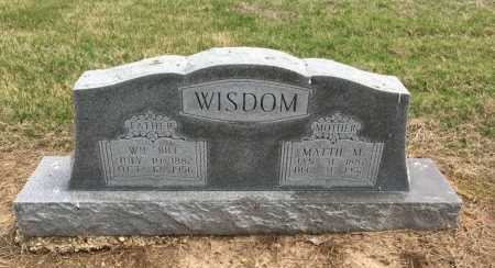 WISDOM, MATTIE M - Clay County, Arkansas | MATTIE M WISDOM - Arkansas Gravestone Photos