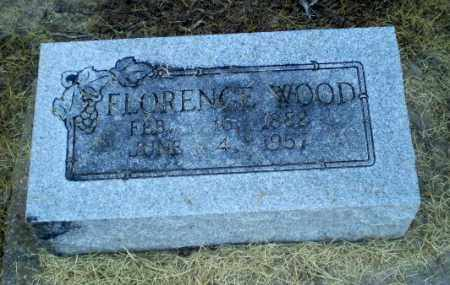 WOOD, FLORENCE - Clay County, Arkansas | FLORENCE WOOD - Arkansas Gravestone Photos