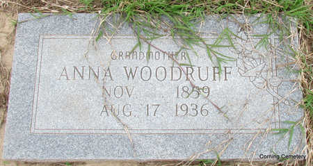 WOODRUFF, ANNA - Clay County, Arkansas | ANNA WOODRUFF - Arkansas Gravestone Photos