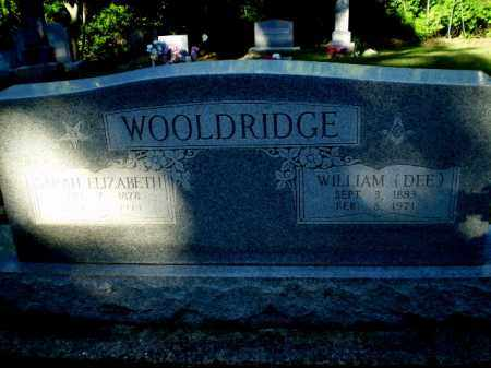 "WOOLDRIDGE, WILLIAM ""DEE"" - Clay County, Arkansas 
