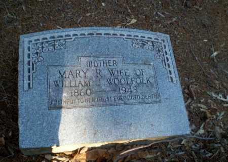 WOOLFOLK, MARY R - Clay County, Arkansas | MARY R WOOLFOLK - Arkansas Gravestone Photos