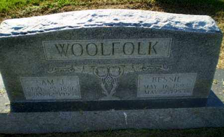 WOOLFOLK, BESSIE - Clay County, Arkansas | BESSIE WOOLFOLK - Arkansas Gravestone Photos