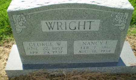 WRIGHT, GEORGE W - Clay County, Arkansas | GEORGE W WRIGHT - Arkansas Gravestone Photos