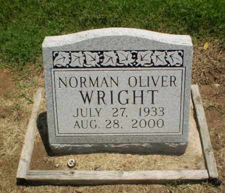 WRIGHT, NORMAN OLIVER - Clay County, Arkansas | NORMAN OLIVER WRIGHT - Arkansas Gravestone Photos
