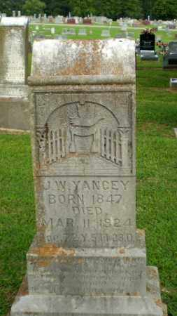 YANCEY, J.W. - Clay County, Arkansas | J.W. YANCEY - Arkansas Gravestone Photos