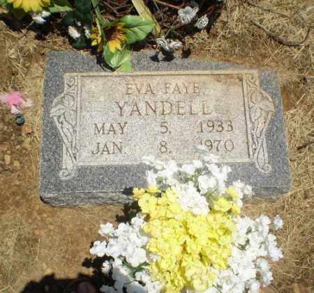 YANDELL, EVA FAYE - Clay County, Arkansas | EVA FAYE YANDELL - Arkansas Gravestone Photos