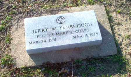 YARBROUGH  (VETERAN), JERRY W. - Clay County, Arkansas | JERRY W. YARBROUGH  (VETERAN) - Arkansas Gravestone Photos