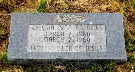 ANDREWS, VALERIA LYNN - Cleburne County, Arkansas | VALERIA LYNN ANDREWS - Arkansas Gravestone Photos