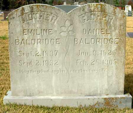 BALDRIDGE, EMILINE - Cleburne County, Arkansas | EMILINE BALDRIDGE - Arkansas Gravestone Photos