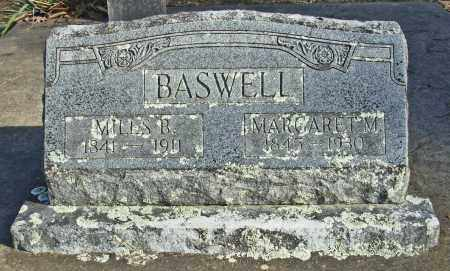BASWELL, MARGARET M. - Cleburne County, Arkansas | MARGARET M. BASWELL - Arkansas Gravestone Photos
