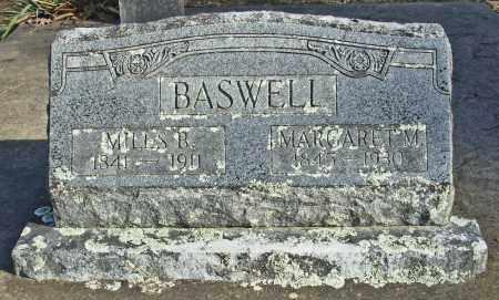 BASWELL, MILES B. - Cleburne County, Arkansas | MILES B. BASWELL - Arkansas Gravestone Photos