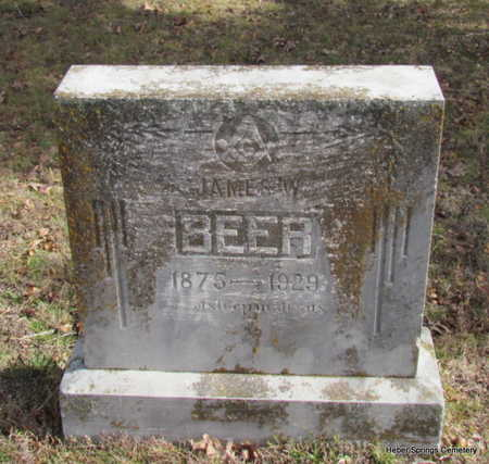 BEER, JAMES W. - Cleburne County, Arkansas | JAMES W. BEER - Arkansas Gravestone Photos