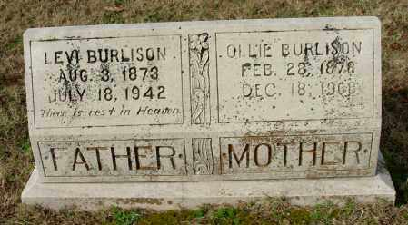 BURLISON, OLLIE - Cleburne County, Arkansas | OLLIE BURLISON - Arkansas Gravestone Photos