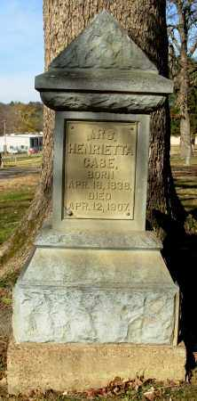 CASE, MRS. HENRIETTA - Cleburne County, Arkansas | MRS. HENRIETTA CASE - Arkansas Gravestone Photos