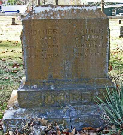 COBB, N. C. - Cleburne County, Arkansas | N. C. COBB - Arkansas Gravestone Photos