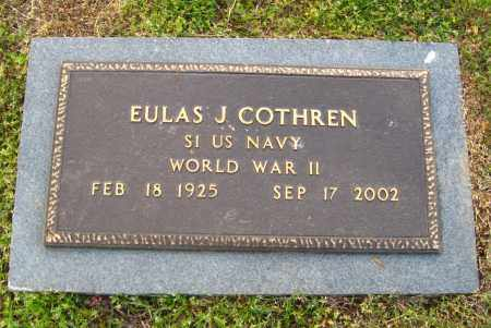 COTHREN  (VETERAN WWII), EULAS J. - Cleburne County, Arkansas | EULAS J. COTHREN  (VETERAN WWII) - Arkansas Gravestone Photos