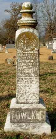 FOWLKES, MARGARET P - Cleburne County, Arkansas | MARGARET P FOWLKES - Arkansas Gravestone Photos