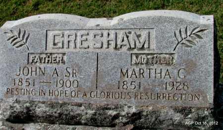 GRESHAM, JOHN A., SR. - Cleburne County, Arkansas | JOHN A., SR. GRESHAM - Arkansas Gravestone Photos