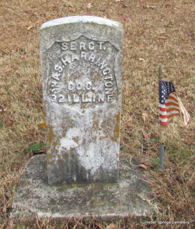 HARRINGTON (VETERAN UNION), CHARLES - Cleburne County, Arkansas | CHARLES HARRINGTON (VETERAN UNION) - Arkansas Gravestone Photos