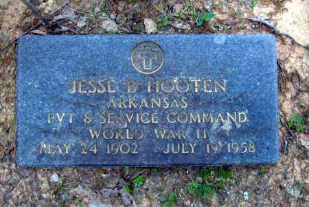 HOOTEN (VETERAN WWII), JESSE B. - Cleburne County, Arkansas | JESSE B. HOOTEN (VETERAN WWII) - Arkansas Gravestone Photos