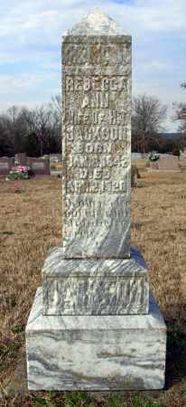 JACKSON, REBECCA ANN - Cleburne County, Arkansas | REBECCA ANN JACKSON - Arkansas Gravestone Photos