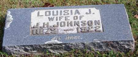 JOHNSON, LOUISA J - Cleburne County, Arkansas | LOUISA J JOHNSON - Arkansas Gravestone Photos