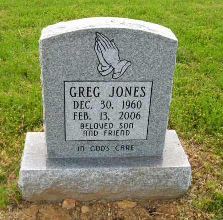 JONES, GREG - Cleburne County, Arkansas | GREG JONES - Arkansas Gravestone Photos