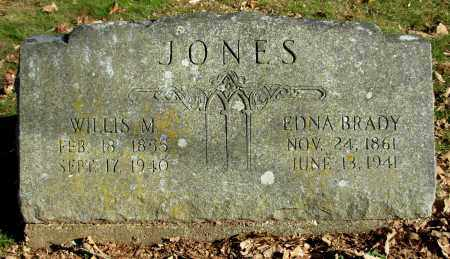 BRADY JONES, EDNA - Cleburne County, Arkansas | EDNA BRADY JONES - Arkansas Gravestone Photos