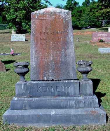 KENNEDY (VETERAN WWI), JOHN E. - Cleburne County, Arkansas | JOHN E. KENNEDY (VETERAN WWI) - Arkansas Gravestone Photos