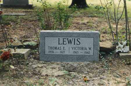 WALKER LEWIS, VICTORIA - Cleburne County, Arkansas | VICTORIA WALKER LEWIS - Arkansas Gravestone Photos