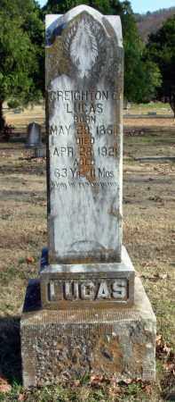 LUCAS, CREIGHTON C. - Cleburne County, Arkansas | CREIGHTON C. LUCAS - Arkansas Gravestone Photos