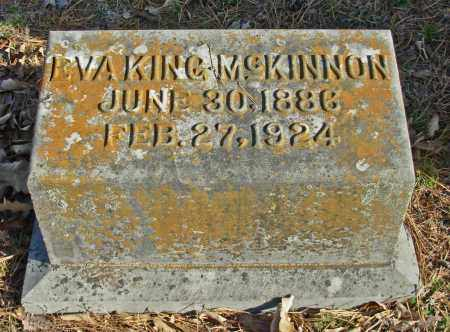 MCKINNON, EVA - Cleburne County, Arkansas | EVA MCKINNON - Arkansas Gravestone Photos