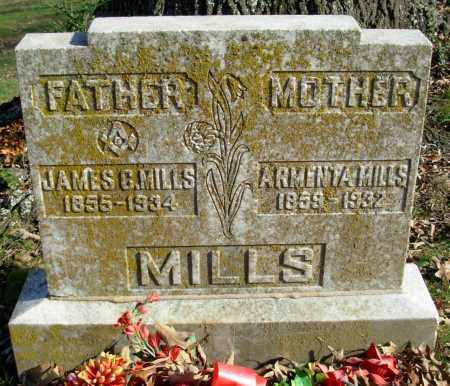 MILLS, JAMES C. - Cleburne County, Arkansas | JAMES C. MILLS - Arkansas Gravestone Photos