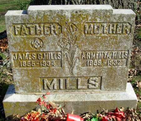 MILLS, ARMENTA - Cleburne County, Arkansas | ARMENTA MILLS - Arkansas Gravestone Photos