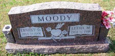 MOODY, ERNEST D - Cleburne County, Arkansas | ERNEST D MOODY - Arkansas Gravestone Photos